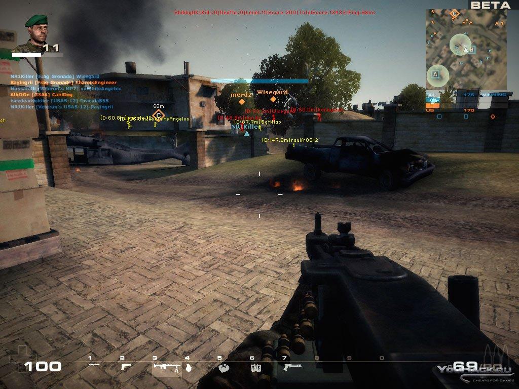 BF Play4Free Multihack - v0.1.